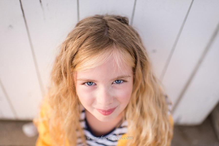 Séance photo enfant fille à Saint Briac